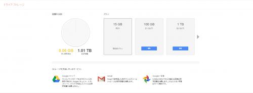 Google Drive特典1