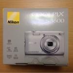 Nikonのコンパクトデジカメ『COOLPIX S3600』購入!